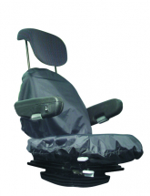 Large Tractor Seat Cover Black