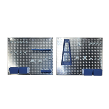 34pc Wall Storage Pegboard Set