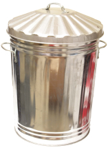 Galvanised Dustbin 18