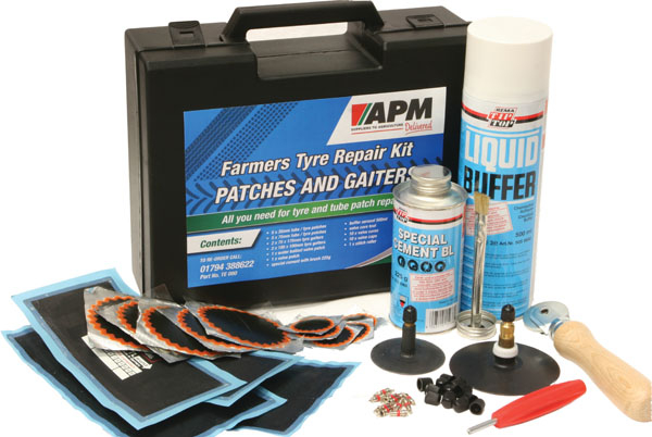 TYRE PATCHES & GAITERS KIT