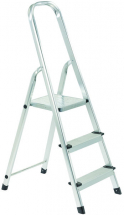 3 Tread Aluminium Step Ladder