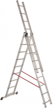 Combi 9 Tread Aluminium Ladder