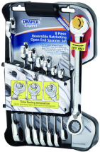 8pc Reversible Gear Wrench Set (8mm-19mm)