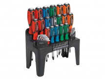 Screwdriver Set 44pc (Pound-Through)
