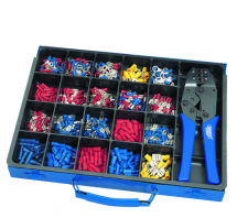 Crimping Assortment & Ratchet (Approx 590pcs)