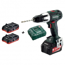 Metabo 18V Drill Pack (2 x 2.0Ah Battery & Charger)