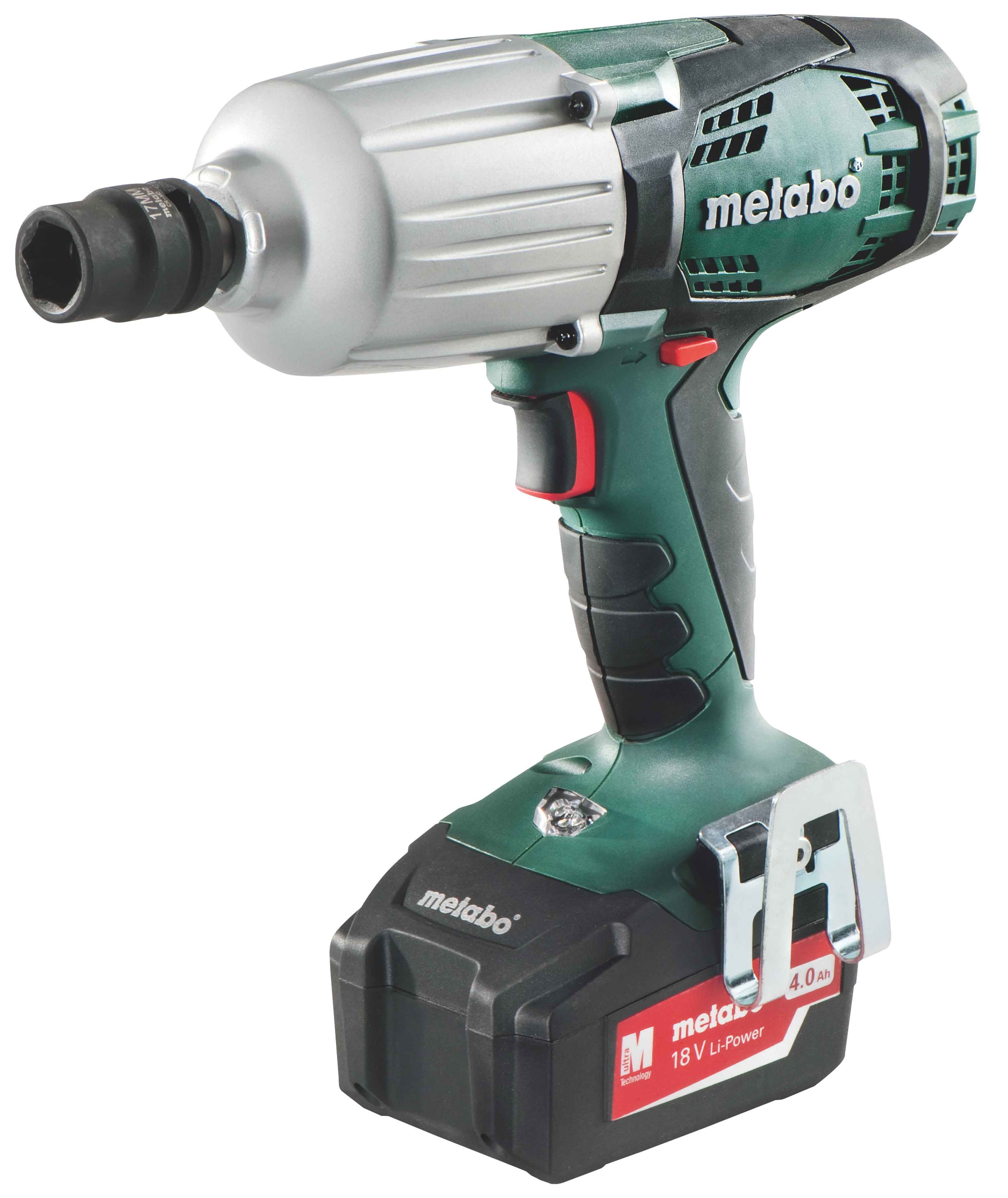 METABO SSW 18LTX IMPACT WRENCH (4.0Ah 18V CORDLESS)