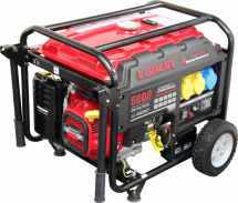 Loncin LC5000 Generator 4kw (With Wheel Kit)