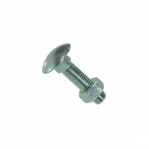 Coach Bolt & Nut M8 x 80mm (Pack-50)